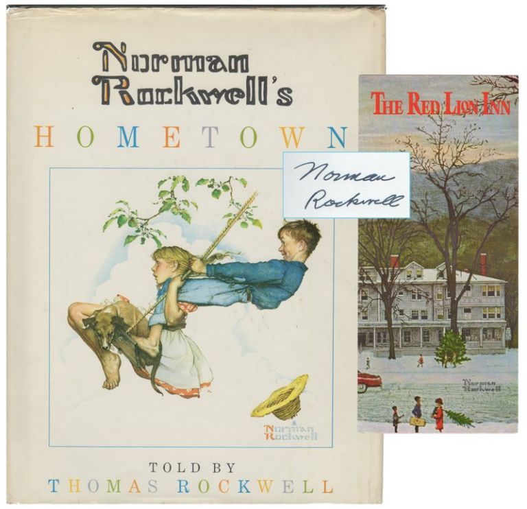 NORMAN ROCKWELL'S HOMETOWN. Norman Rockwell, Thomas ROCKWELL.