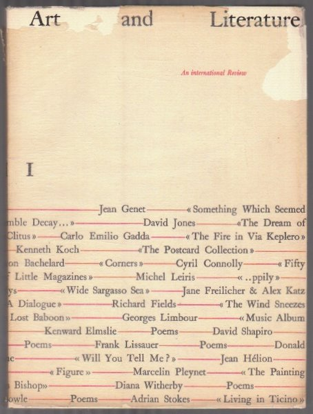 ART AND LITERATURE I - March 1964. John ASHBERY.