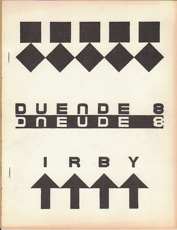 DUENDE 8: Movements/Sequences. Kenneth IRBY.
