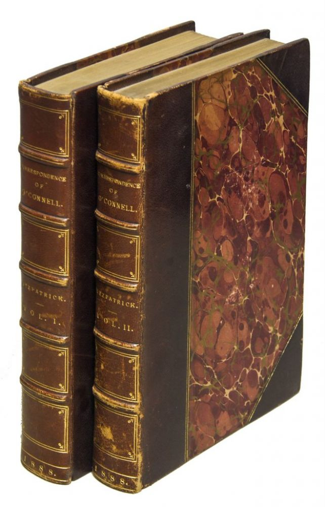 CORRESPONDENCE OF DANIEL O'CONNELL THE LIBERATOR [Complete in Two Volumes]. Daniel O'CONNELL.