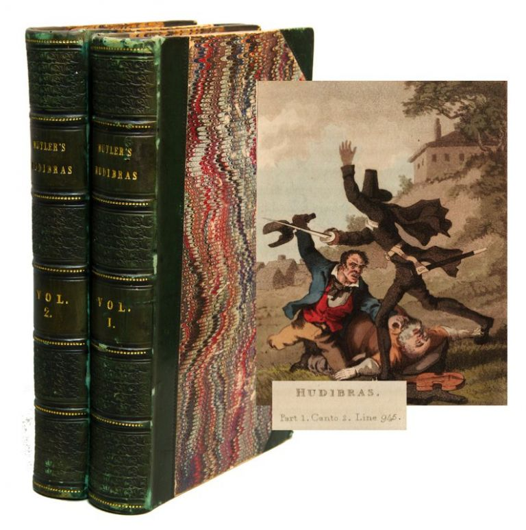 HUDIBRAS, A Poem, By Samuel Butler, with Notes, Selected from Grey and Other Authors; to Which are Prefixed, A Life of the Author, and a Preliminary Discourse on the Civil War, &c. In Two Volumes. A New Edition Embellished with Engravings. Samuel BUTLER.