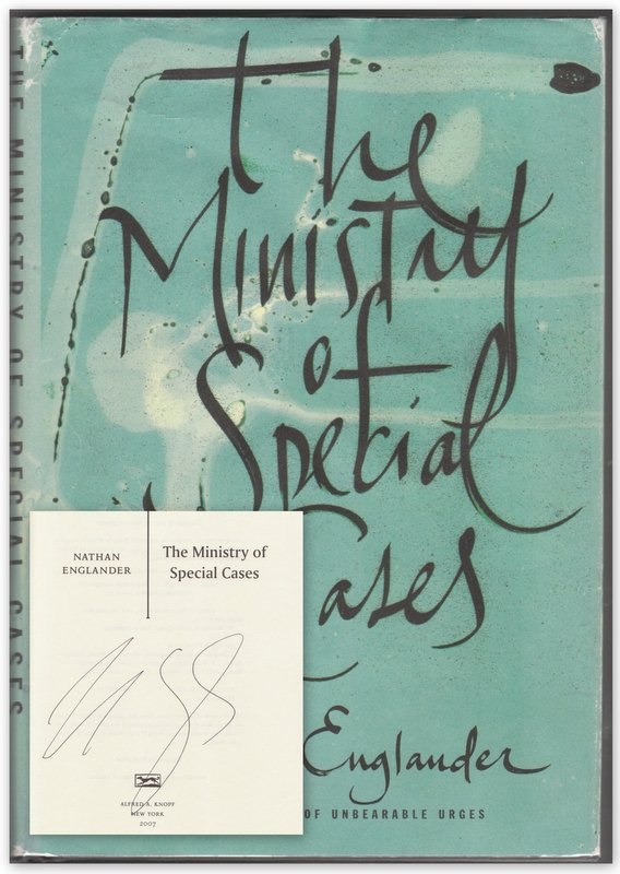 THE MINISTRY OF SPECIAL CASES. Nathan ENGLANDER.