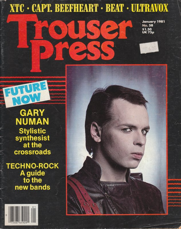 TROUSER PRESS #58 - January 1981 (Volume Seven, Number Twelve). Ira A. ROBBINS.