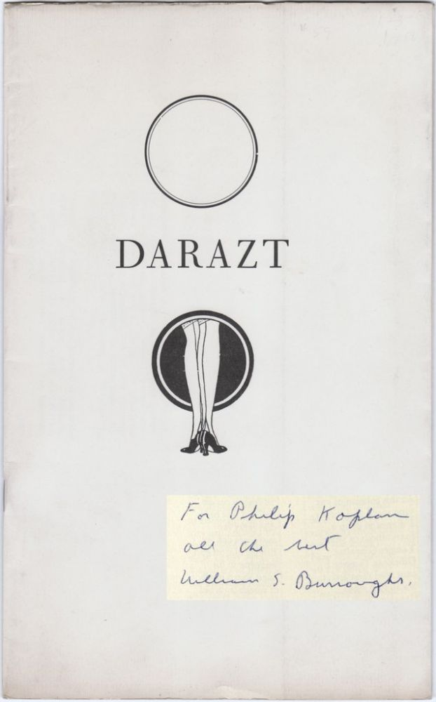 DARAZT: An Anthology. MILES, Barry.