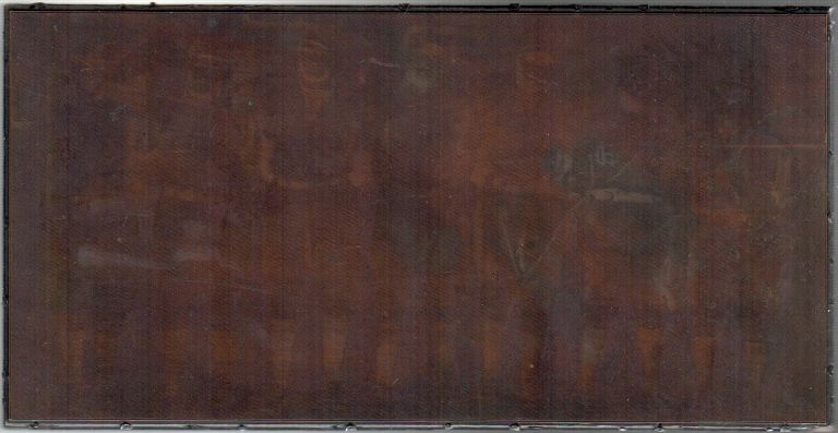 [Original Photographic Copper Printing Plate of the House of David Baseball Team]. Baseball.