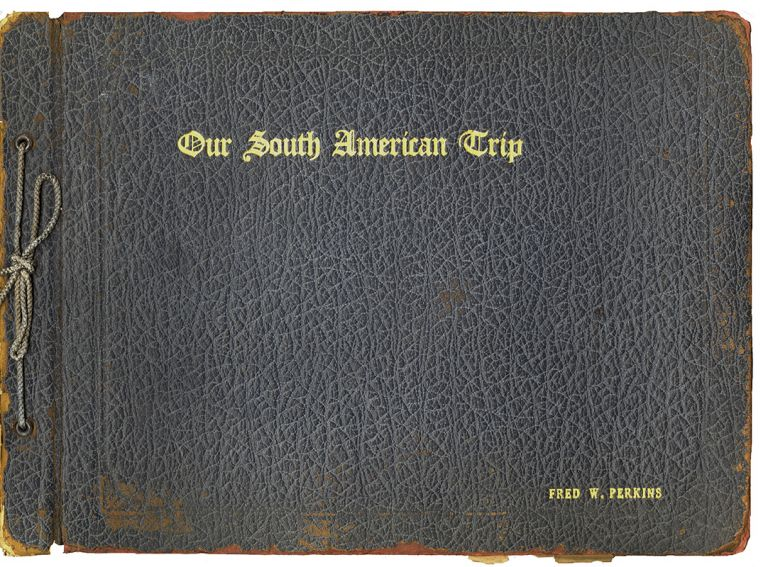 OUR SOUTH AMERICAN TRIP [Cover Title]. Pan American Highway, Fred W. PERKINS.