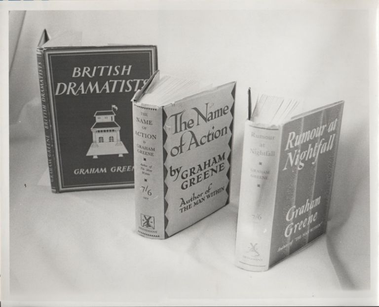 [Research and Publication Archive of GRAHAM GREENE: A Bibliography and Guide to Research]. Bibliography, R. A. WOBBE.
