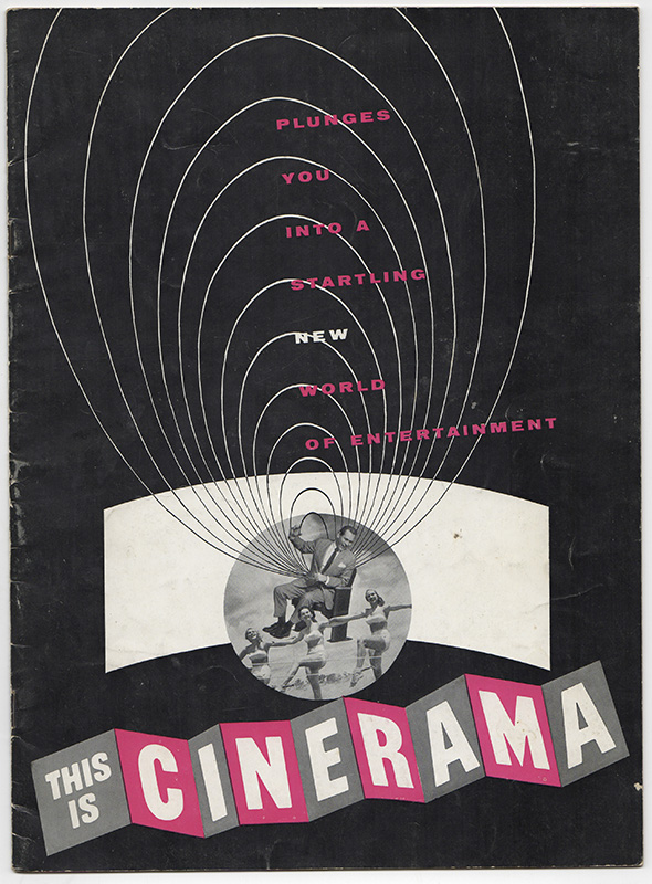 THIS IS CINERAMA: Plunges You Into A Startling New World Of Entertainment [Program]. Film.