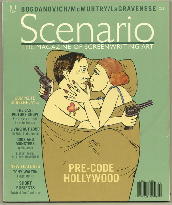 SCENARIO: The Magazine of Screenwriting Art; Volume 4, Number 4. Film.