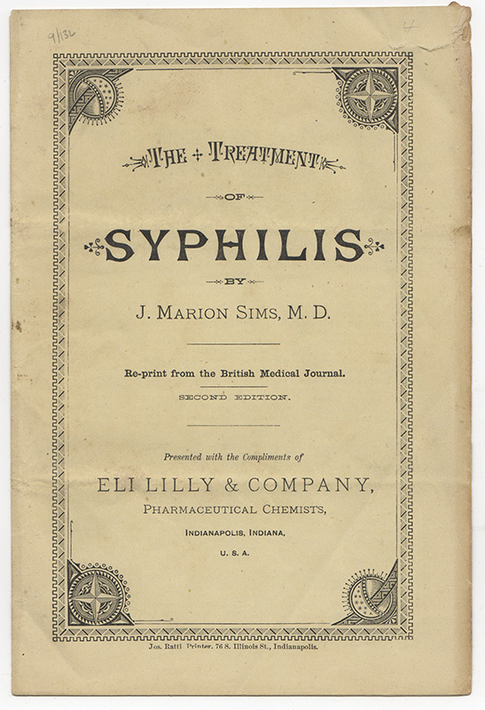 THE TREATMENT OF SYPHILIS. J. Marion SIMS, M. D.