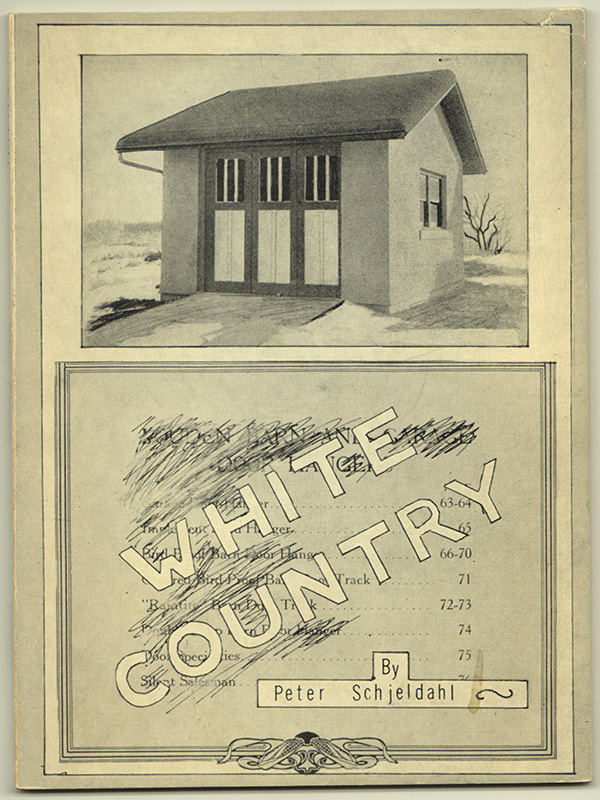 WHITE COUNTRY / POEMS. Peter SCHJELDAHL.