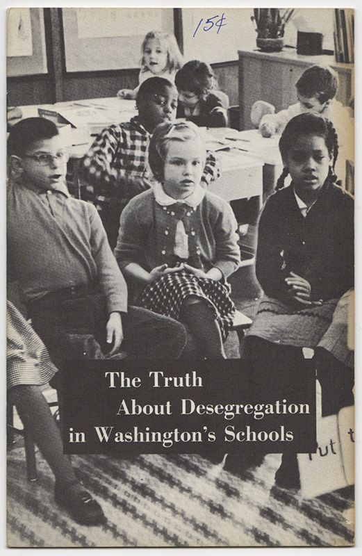 THE TRUTH ABOUT DESEGREGATION IN WASHINGTON'S SCHOOLS. Edwin KNOLL.