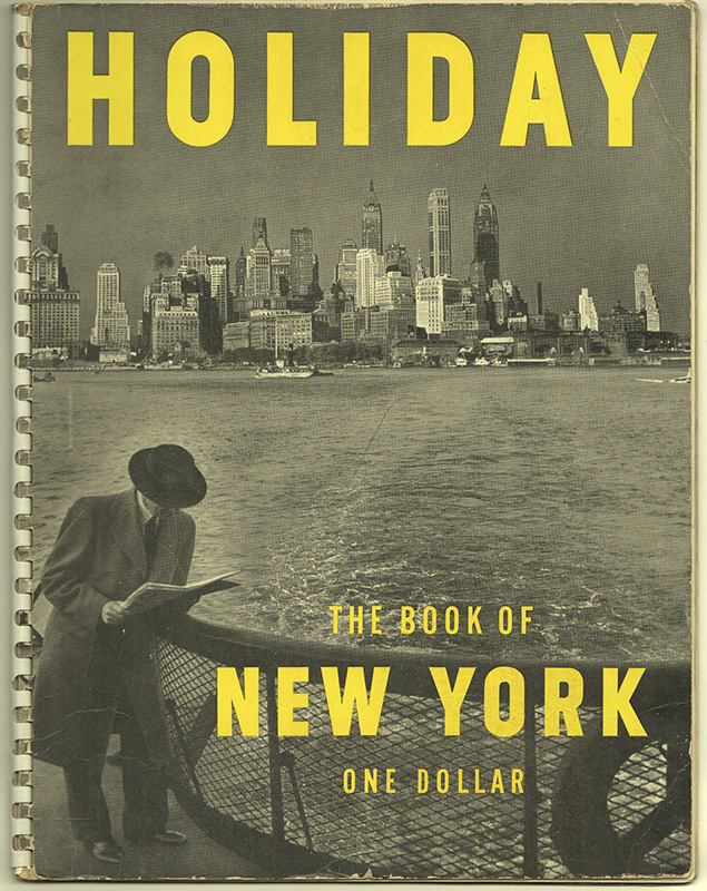 THE HOLIDAY BOOK OF NEW YORK. Ted - PATRICK.