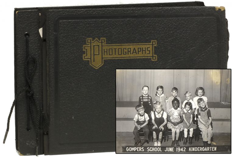 [Original Photograph Album of Children with Polio]. Photography, Polio.