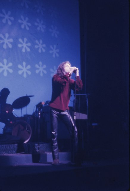 [Collection of Color Transparency Slides of Jim Morrison]. Photography, Music.