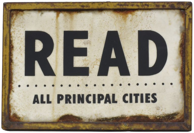 "READ: All Principal Cities [Original Artwork]. "" a. k. a. ""Read More"" etc ""THE READER."