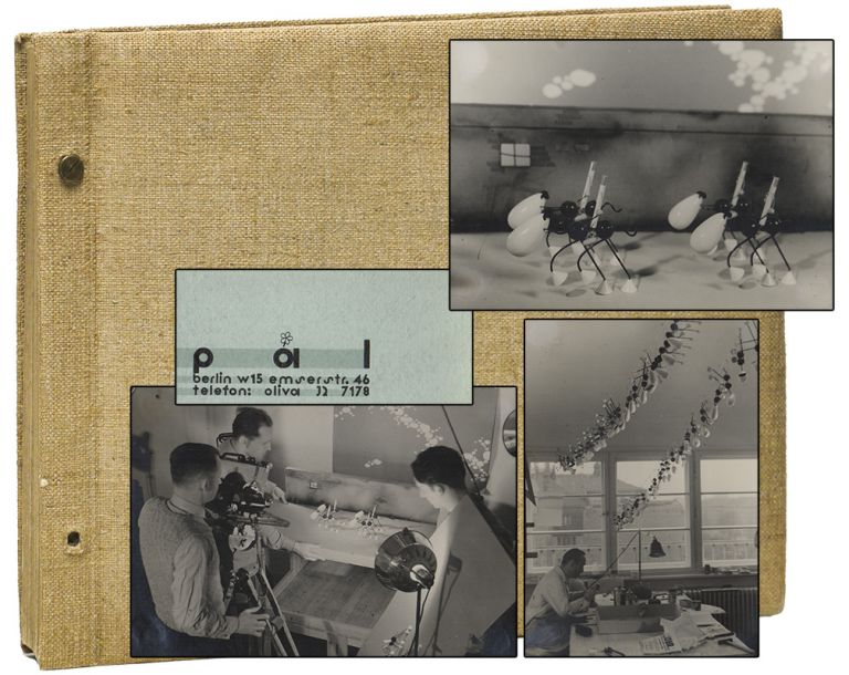 [Original Photo Album from Animation Productions]. George PAL.