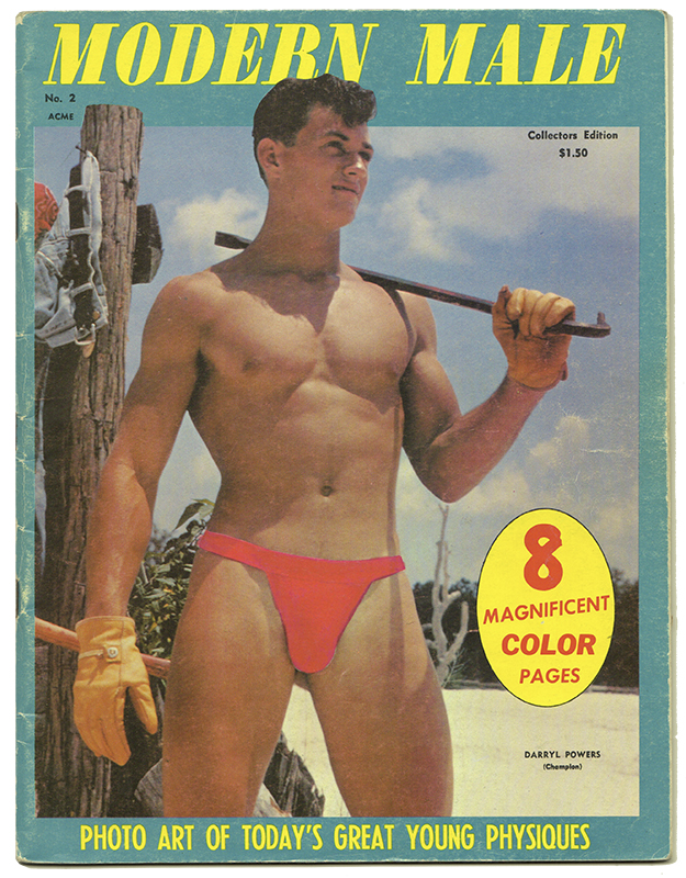 THE MODERN MALE: No. Two, Autumn 1967. Gay Interest, Physique Photography.
