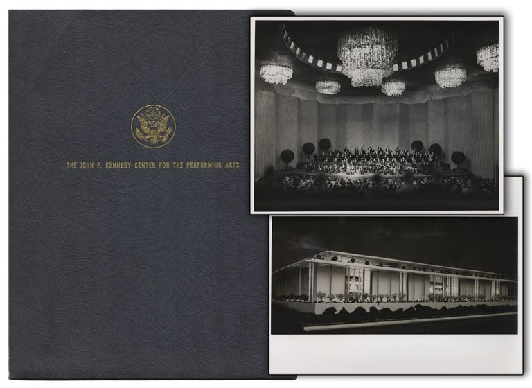 [Original Press Kit from the Ground-Breaking Ceremony for the John F. Kennedy Center for the Performing Arts]. Architecture, DC Washington.