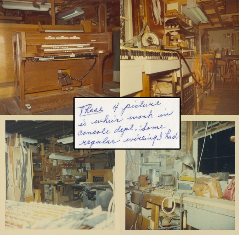 [Photograph Scrapbook Album of Dorothy Welsh, Employee of Schantz Organ Company: 1951-1990]. Dorothy WELSH, Music, Organ, Women at Work.