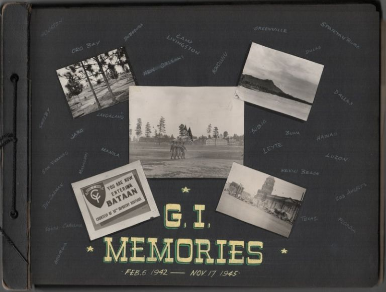 [Archive of 1100+ Original Photographs of a WWII Soldier's Life in the Pacific Theater]. Peter R. BETZ, Photographer.