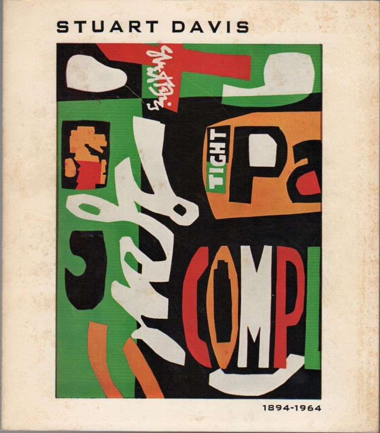 STUART DAVIS MEMORIAL EXHIBITION: 1894-1964. David W. SCOTT, foreword.