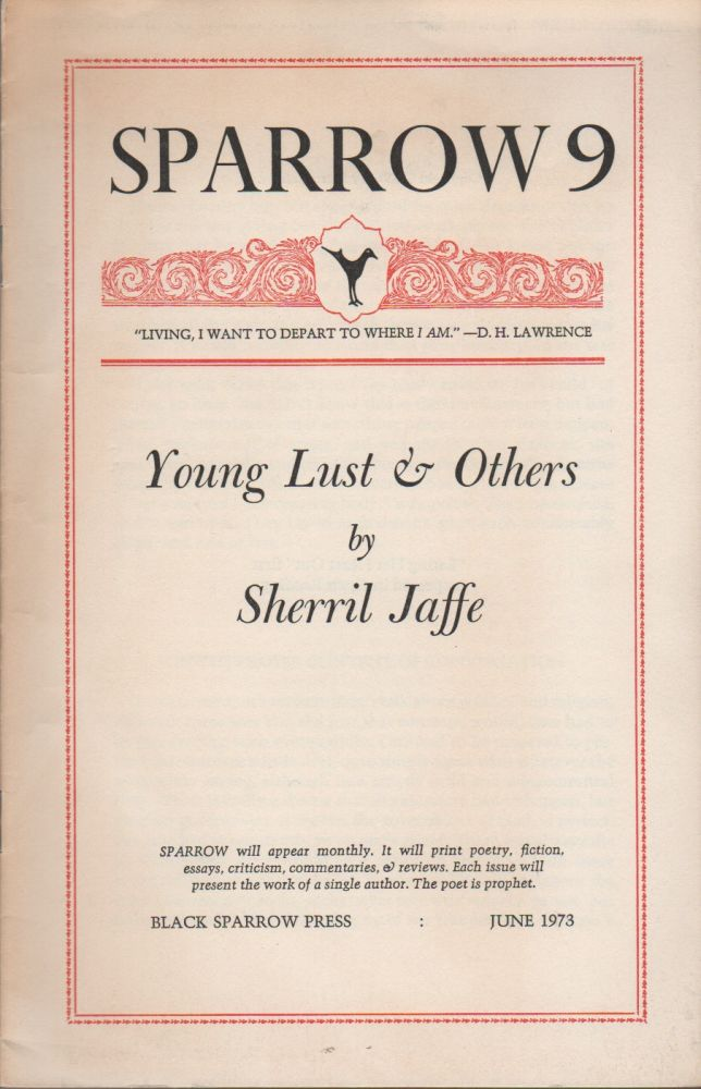 YOUNG LUST AND OTHERS. Sherril JAFFE.