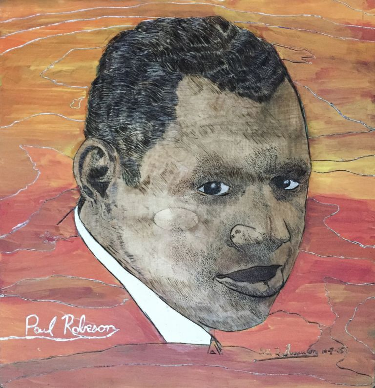 [Archive of Original Paintings and Art]. Art, Willie L. . Shepperson, African Americana.