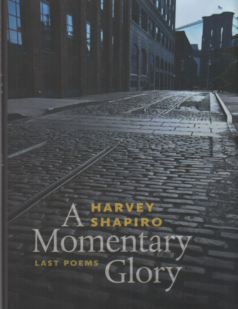 A MOMENTARY GLORY. Harvey SHAPIRO.