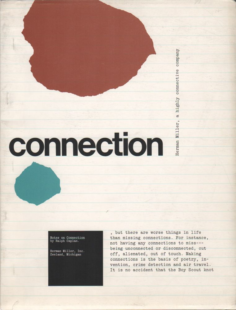 NOTES ON CONNECTION. Ralph CAPLAN.