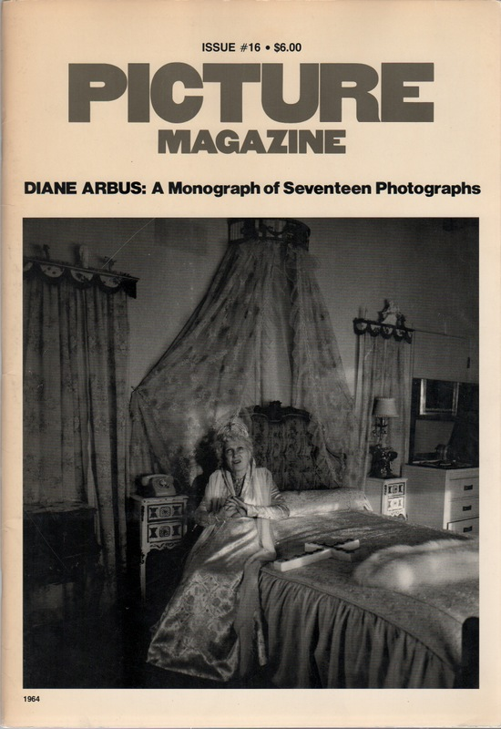 PICTURE MAGAZINE Issue 16. Diane ARBUS, David Gray Gardner.