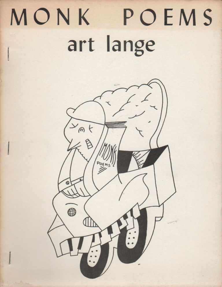 MONK POEMS. Art LANGE.
