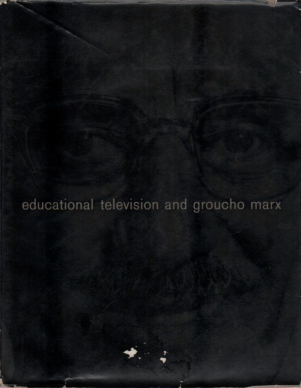 EDUCATIONAL TELEVISION AND GROUCHO MARX. Television.