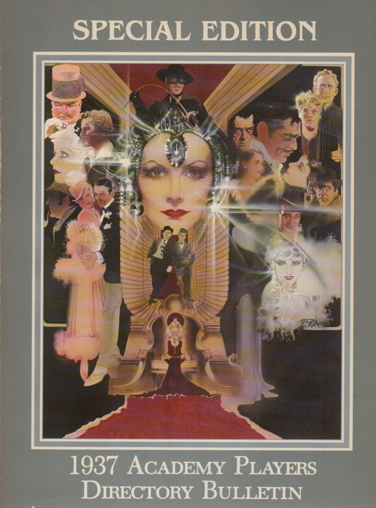 1937 ACADEMY PLAYERS DIRECTORY BULLETIN: Special Edition. Academy of Motion Picture Arts and Sciences.