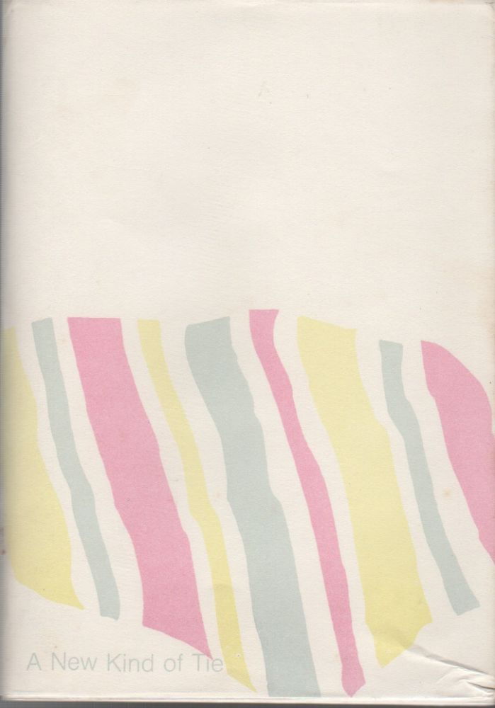 A NEW KIND OF TIE: Poems 1965-68. Simon CUTTS.