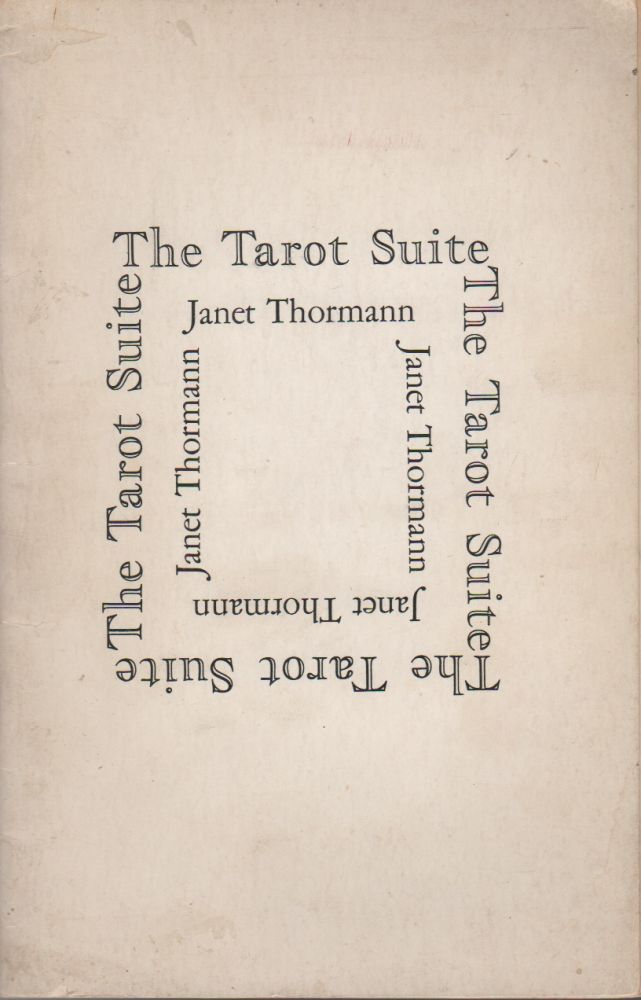 THE TAROT SUITE. Janet THORMANN.