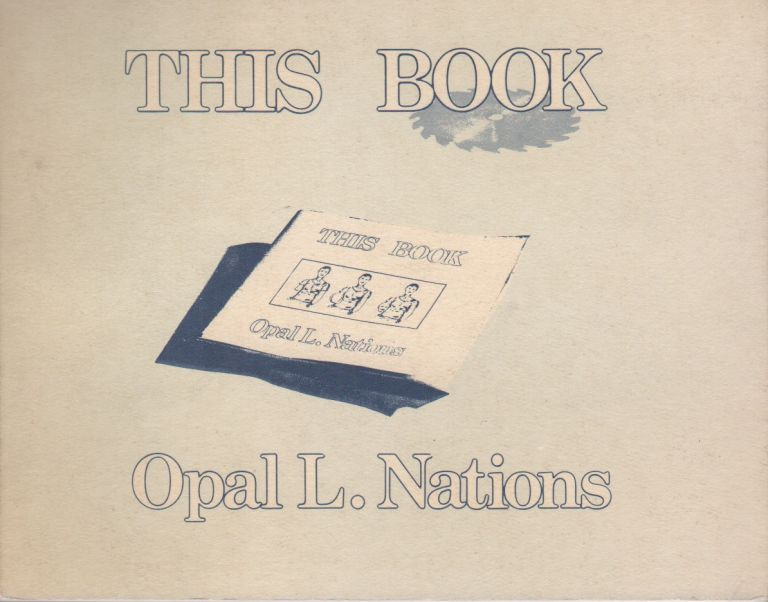 THIS BOOK: Or Mental Scortation. Opal L. NATIONS.