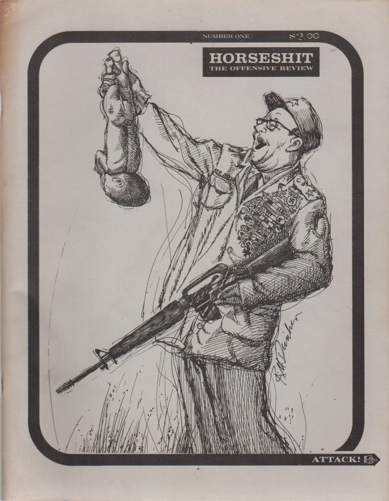 HORSESHIT: The Offensive Review - No. 1. Thomas W. DUNKER, Robert M.