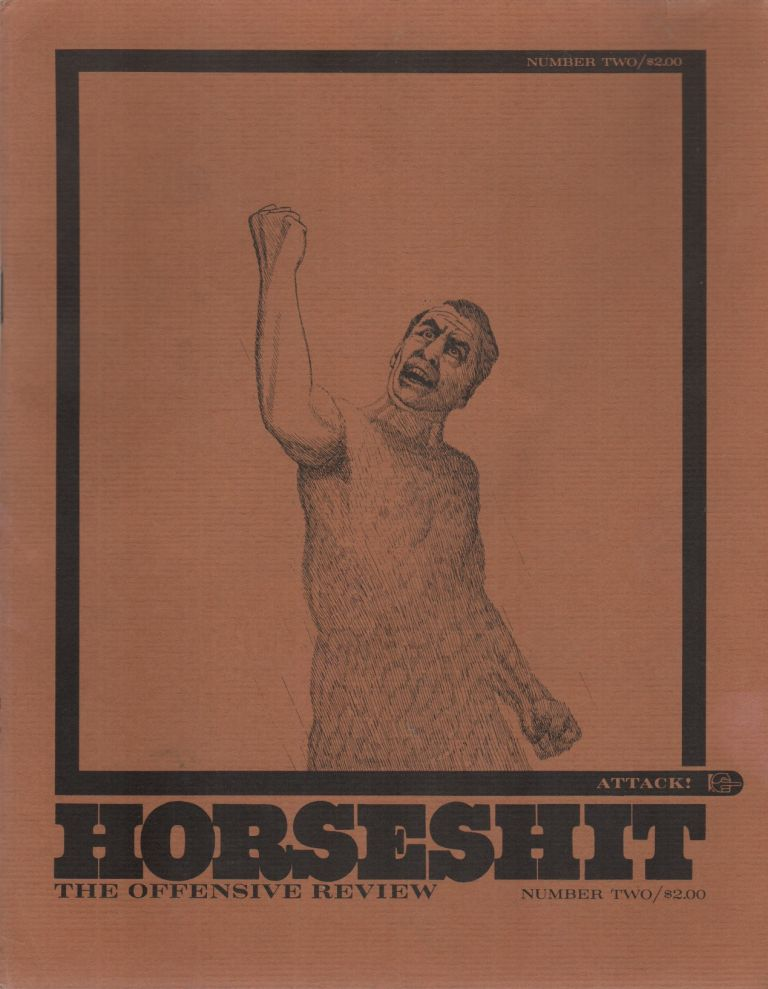 HORSESHIT: The Offensive Review - No. 2. Thomas W. DUNKER, Robert M.