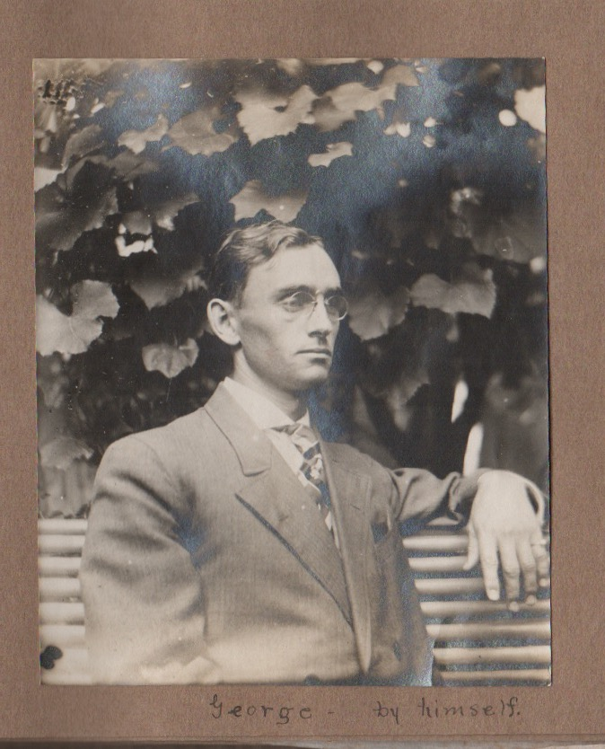 """[Original Photo Album of South Dakota State College of Agriculture and Mechanic Arts. """"George."""", Compiler Photographer."""