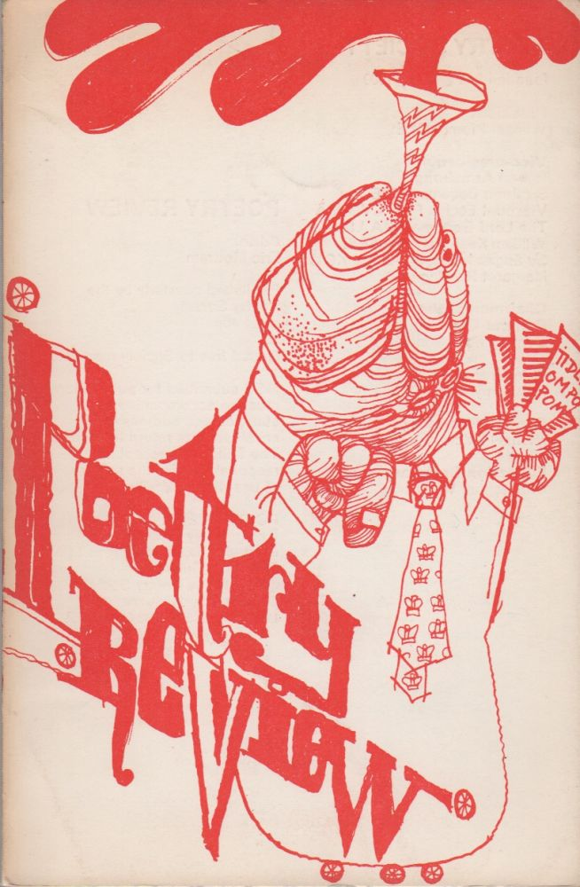 POETRY REVIEW - Vol. 61 No. 4 - Winter 1971/72. Eric MOTTRAM, Jeff Nuttall, Cover Art.