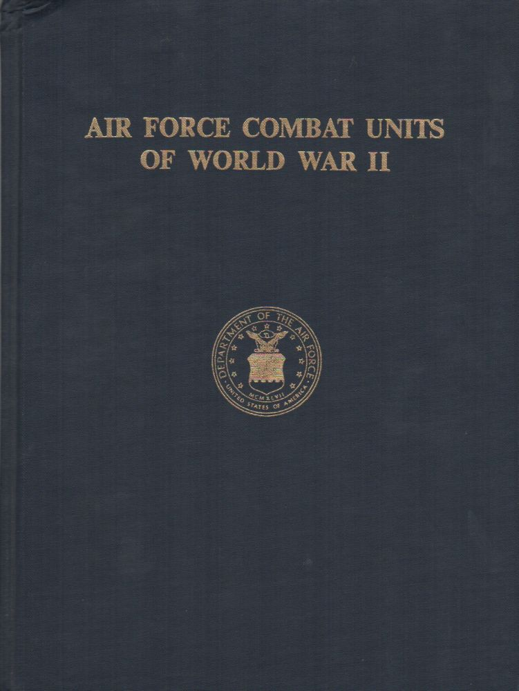 AIR FORCE COMBAT UNITS OF WORLD WAR II. Maurer MAURER.
