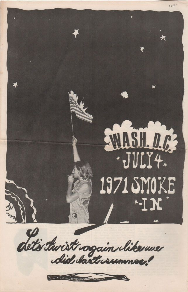 WASH. D.C. JULY 4, 1971 SMOKE-IN: Let's Twist Again Like We Did Last Summer! Yippies, Drugs.