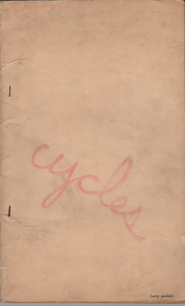 CYCLES [DUENDE 14]. Larry GOODELL.