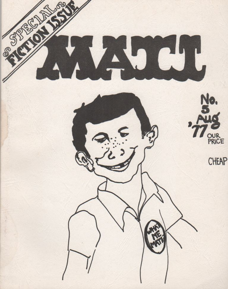 MATI #5 - August 1977. Effie MIHOPOULOUS.