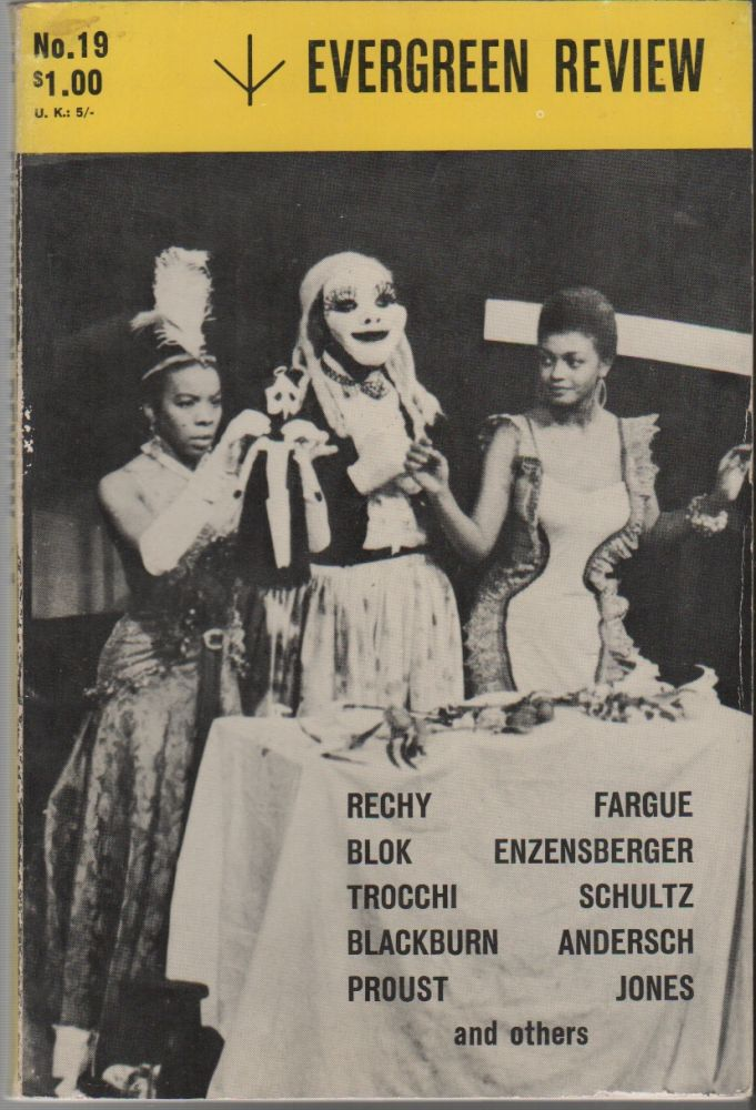 EVERGREEN REVIEW - Vol. 5 No. 19 - July-August 1961. Barney ROSSET.