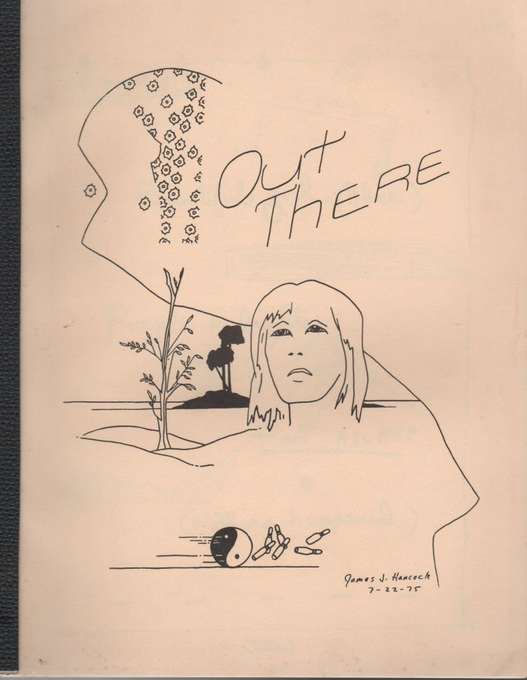 OUT THERE #8. Rose LESNIAK, Bill Berkson Ted Berrigan, Ted Greenwald, Alice Notley, Contributors.
