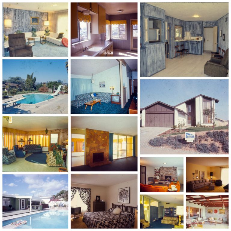 [Slide Archive of a Southern California Realtor]. Photography, Real Estate.