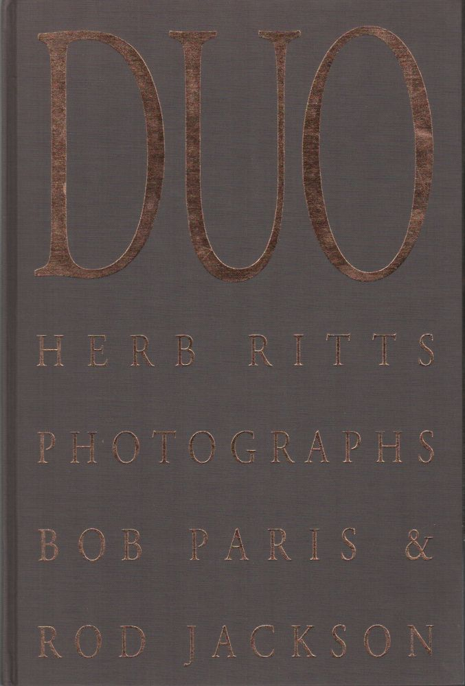 DUO: Herb Ritts Photographs Bob Paris & Rod Jackson. Herb RITTS.