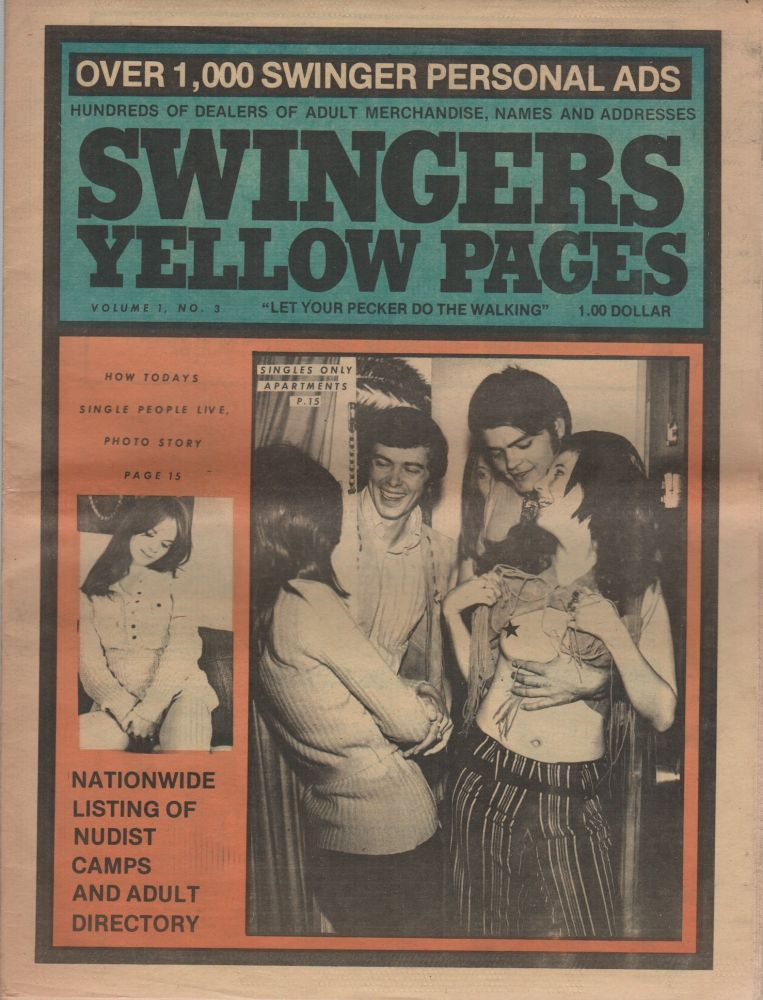 THE NATIONAL SWING: For The Sexually Aware - No. 6. Pornography, Erotic Newspapers.